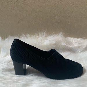 Charles Jourdan Paris Size 7.5 Black Heels
